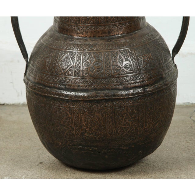 Islamic 19th Century Persian Copper Pot With Handle For Sale - Image 3 of 7