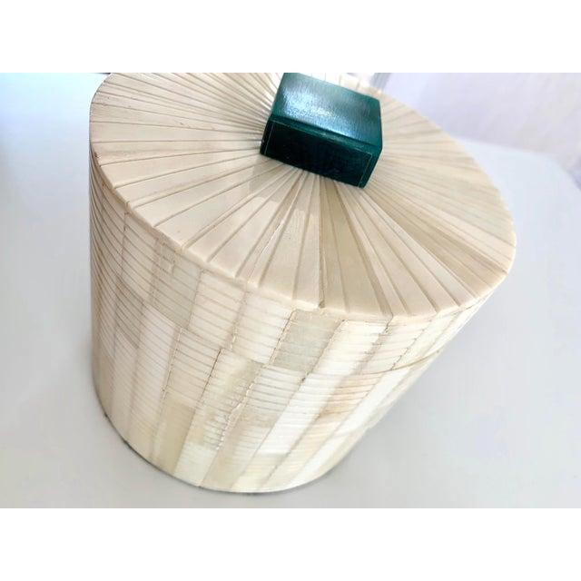 Carved Bone Storage Box For Sale In San Francisco - Image 6 of 9