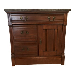 19th Century Victorian Washstand Cupboard For Sale