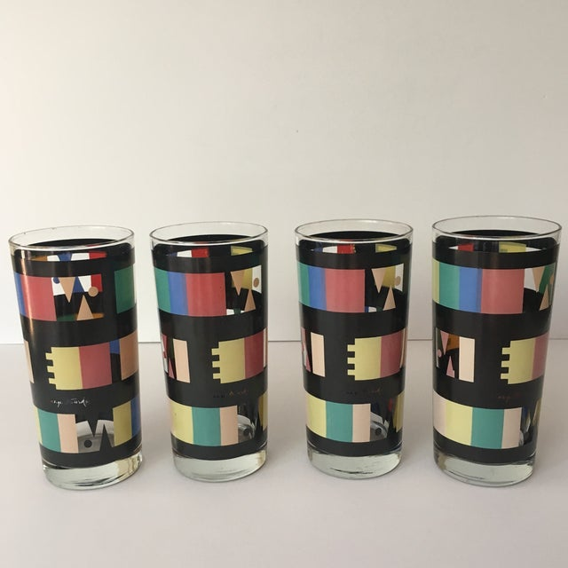 Georges Briard Mid-Century Modern Glasses - Set of 4 - Image 2 of 7