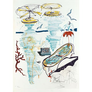 Salvador Dalí­ Liquid Tornado Bathtub (Imagination & Objects of the Future Portfolio) 1975 For Sale
