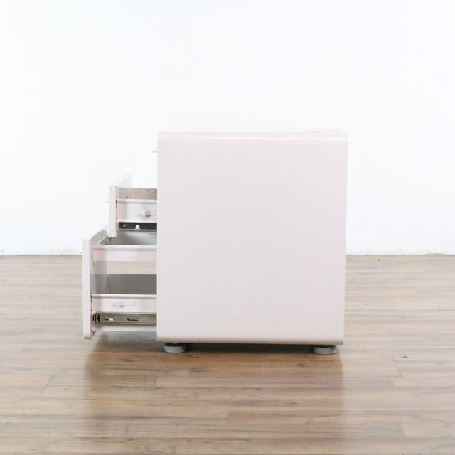Poppin White File Cabinet For Sale In San Francisco - Image 6 of 9