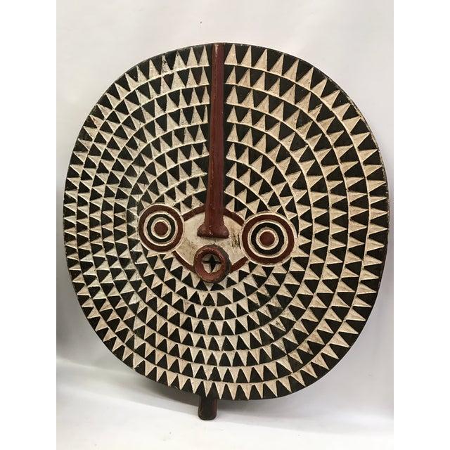 African Tribal Art Large Plank Bwa Mask - Image 3 of 6