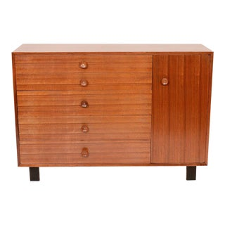 1950s Vintage George Nelson for Herman Miller Gentleman's Chest For Sale