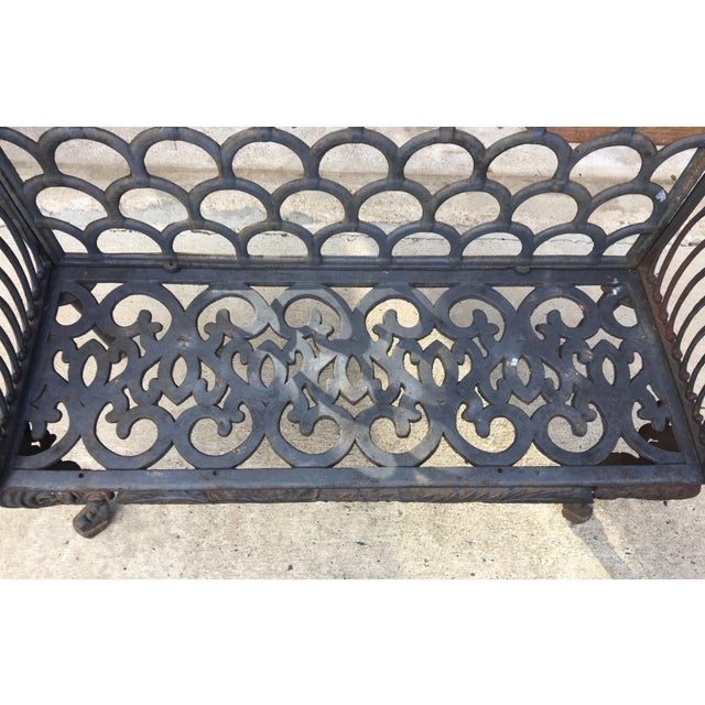 Cast Iron Garden Patio Bench - Image 11 of 11