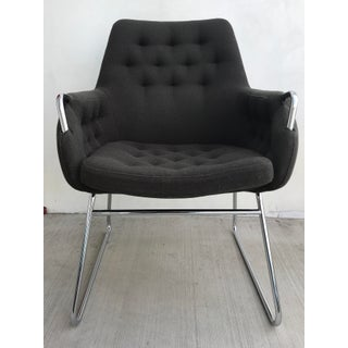 Bruno Mathsson Mid-Century Modern Mirja 442 Upholstered Arm Chair Preview