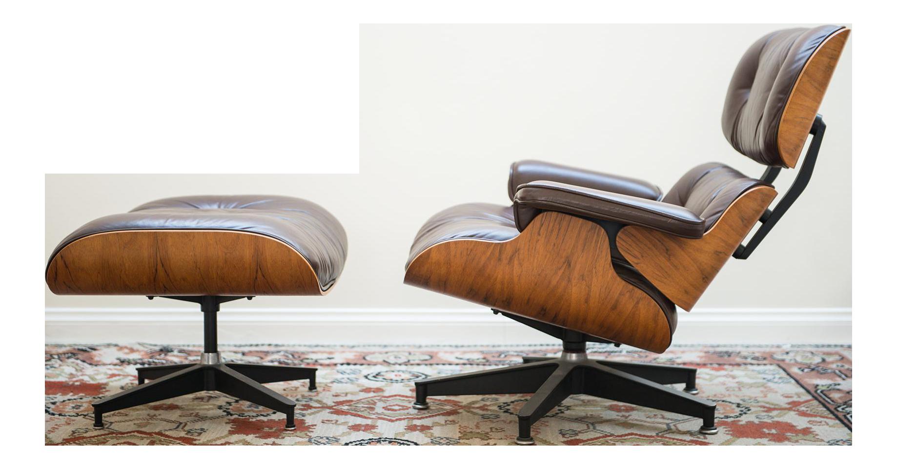 1976 Vintage Herman Miller Eames Lounge Chair U0026 Ottoman