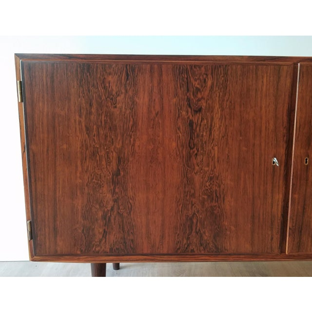 Mid-Century Modern Fully Restored Poul Hundevad Rosewood Sideboard For Sale - Image 9 of 13
