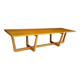 1950s Vintage Edward Wormley for Drexel Precedent Coffee Table / Bench For Sale