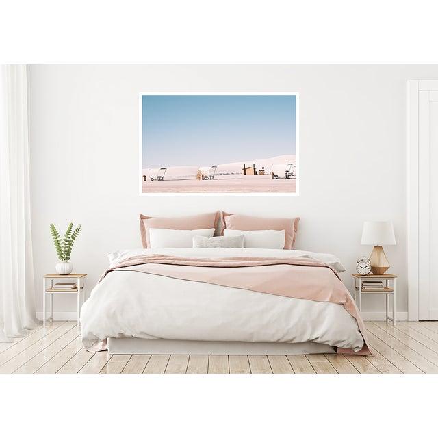 White Sands Landscape Original Framed Photograph For Sale - Image 4 of 6