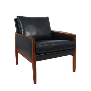 Mid Century Hans Olsen Teak Lounge Chair for Juul-Kristensen For Sale