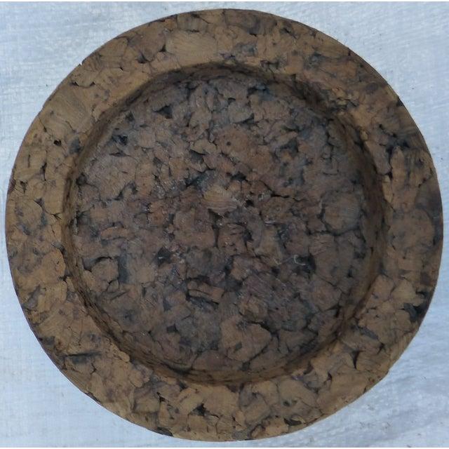 Mid-Century Retro Cork Dish - Image 4 of 7
