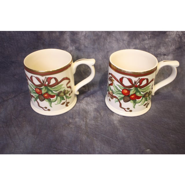 Christmas Mugs by Tiffany & Co - A Pair For Sale - Image 13 of 13