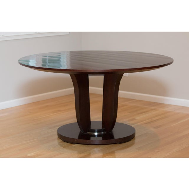 Barbara Barry Round Fluted Dining Table - Image 8 of 9