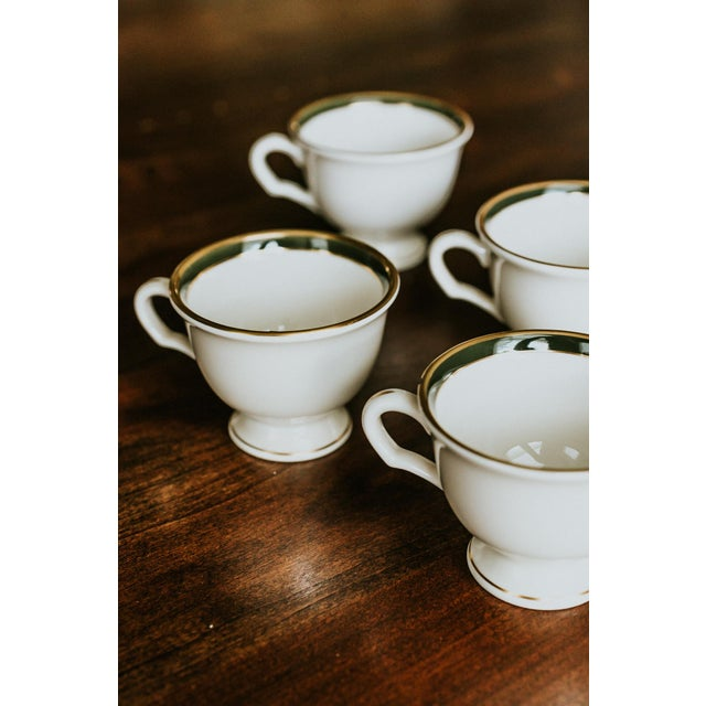 Set of 5 vintage china cups by Pickard