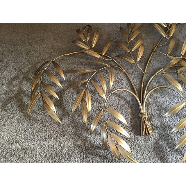 Curtis Jere Italian French Wheat Sheaf Wall Sculpture, Italy Last Markdown For Sale - Image 4 of 8