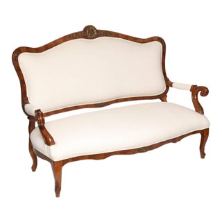 Antique French Style Loveseat For Sale
