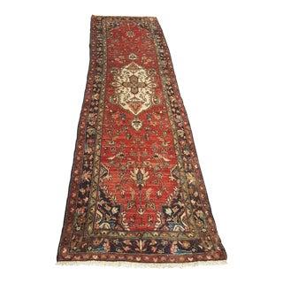Vintage Persian Sarouk Runner - 2′8″ × 9′10″