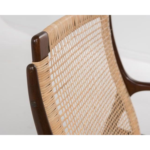 Mid Century Modern Ib Kofod Larsen Selig Armchair For Sale - Image 9 of 13