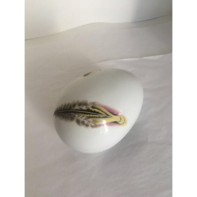 Vista Alegre Portugese Porcelain Egg Box For Sale In Washington DC - Image 6 of 8