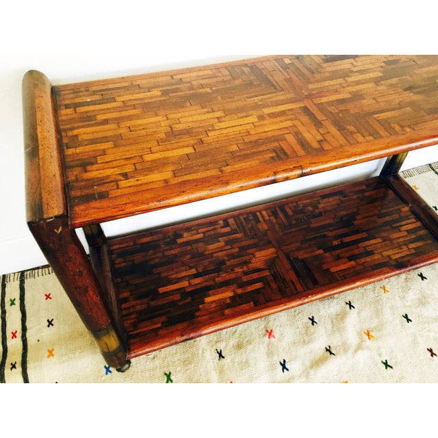Mid-Century Rolling Buffet - Image 4 of 6