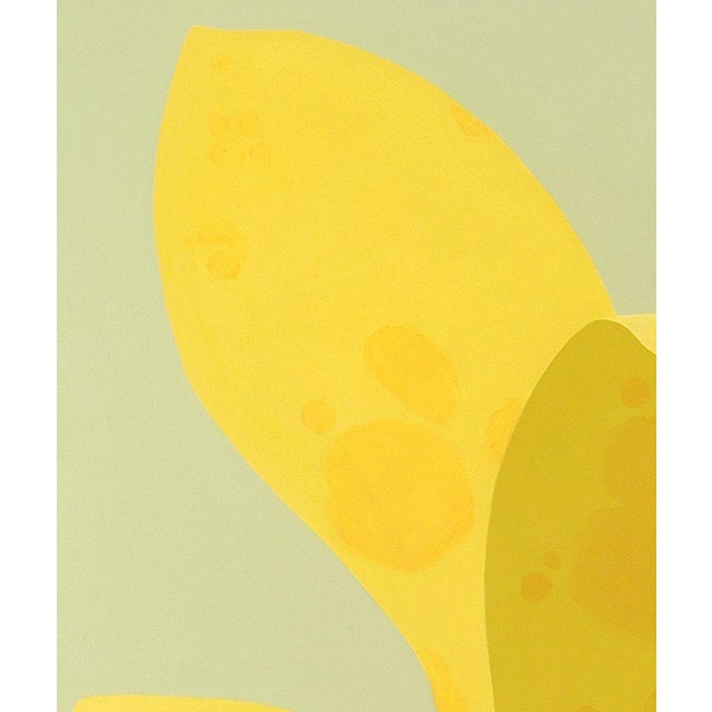 Contemporary Laurie Flaherty, 'Brilliant Yellow Fountain', 2006 For Sale - Image 3 of 3