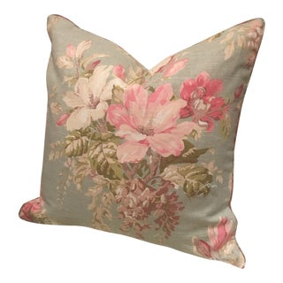 Ralph Lauren Floral Shabby Chic Pillow For Sale