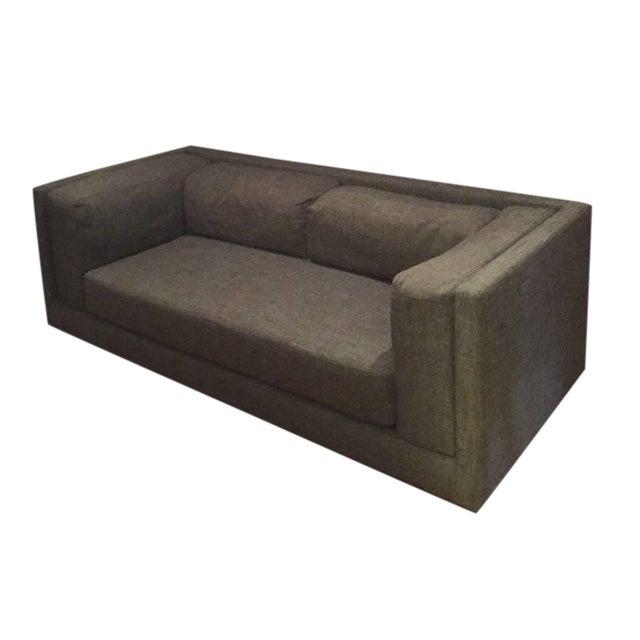 CB2 Bolla Sofa, Carbon For Sale