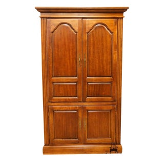 "20th Century Traditional Cherry 44"" Storage Cabinet For Sale"