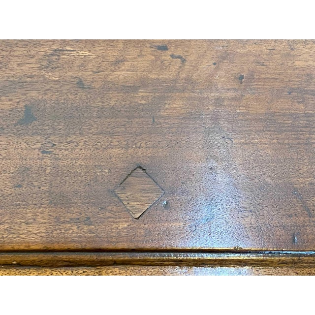 Wood French 18th Century Walnut Commode For Sale - Image 7 of 9