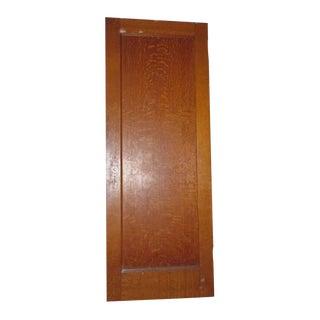 Tiger Oak & Maple Single Panel Doors