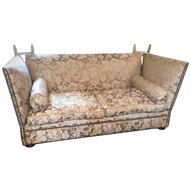 George Smith Knoll Style Sofa For Sale
