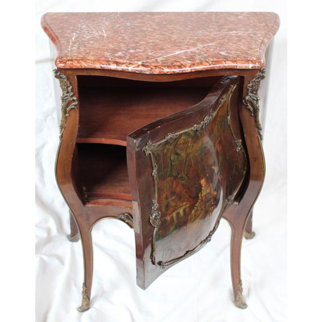 """Louis XV Style """"Vernis Martin"""" Cabinet - Image 8 of 10"""