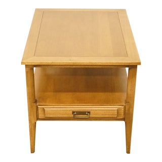 Century Furniture Mid-Century Modern Accent End / Lamp Table For Sale