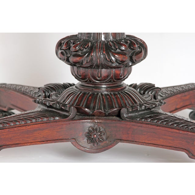 Anglo-Indian Tilt-Top / Centre Table of Mahogany For Sale - Image 4 of 13