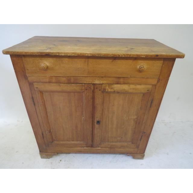 1920s Antique French Rustic Cabinet - Image 3 of 9