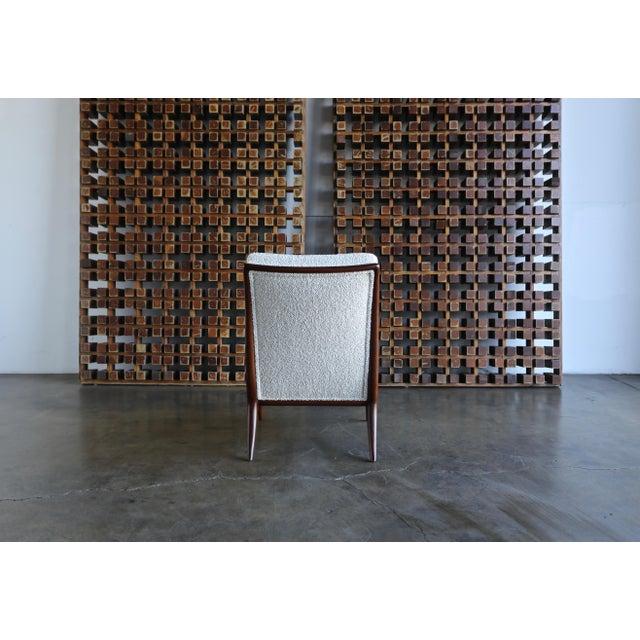 T.H. Robsjohn-Gibbings for Widdicomb Slipper Chairs - a Pair For Sale - Image 11 of 12
