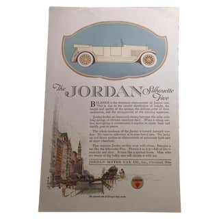Jordan Silhouette Five And Overland Advertisement For Sale