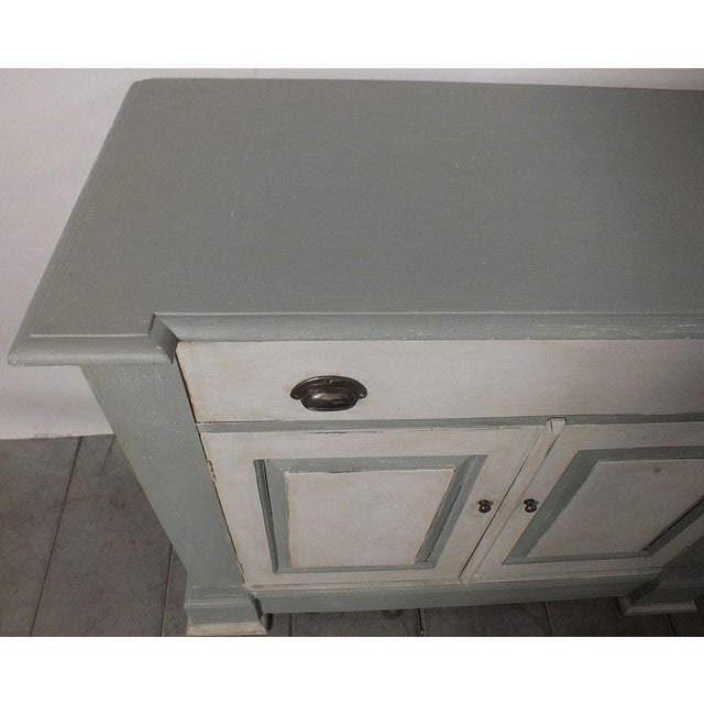 1970's French Country Painted Buffet - Image 6 of 10