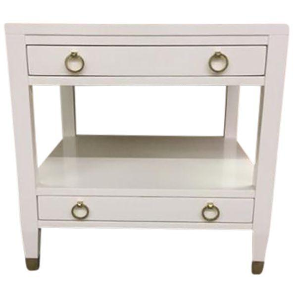 Malibu Loft White End Tables - A Pair - Image 9 of 9