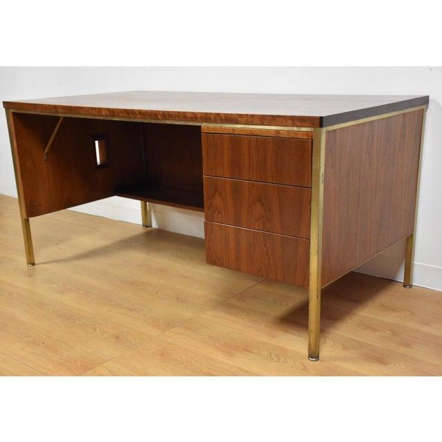 Walnut Executive Desk - Image 2 of 11