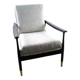 Modern Basset Aria Accent Chair For Sale