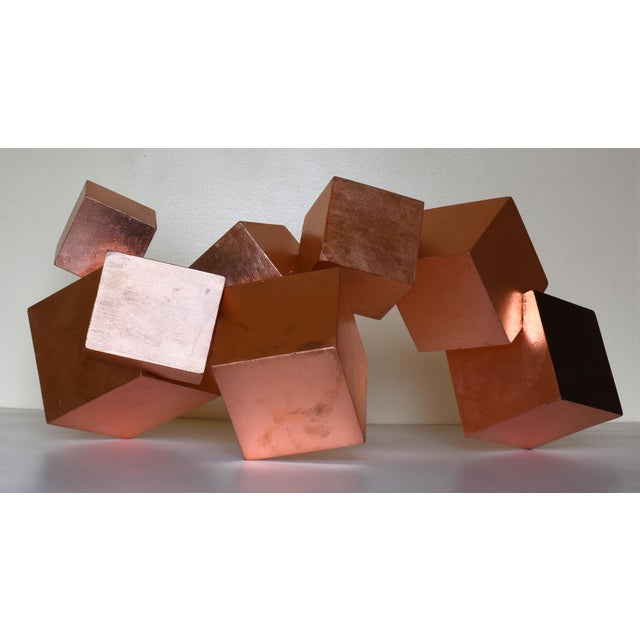 Brown Copper and Mahogany Pyrite Sculpture For Sale - Image 8 of 13