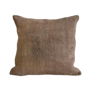 Kim Salmela Turkish Square Kilim Pillow For Sale