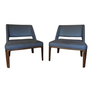 Minotti Owens Armchairs by Rodolfo Dordoni - a Pair For Sale