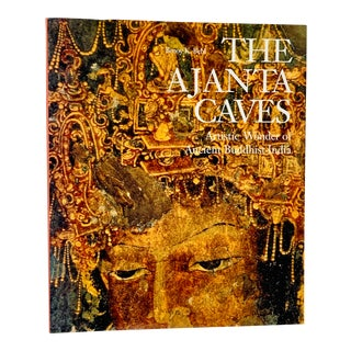 The Ajanta Caves Large Size Coffee Table Art Book For Sale