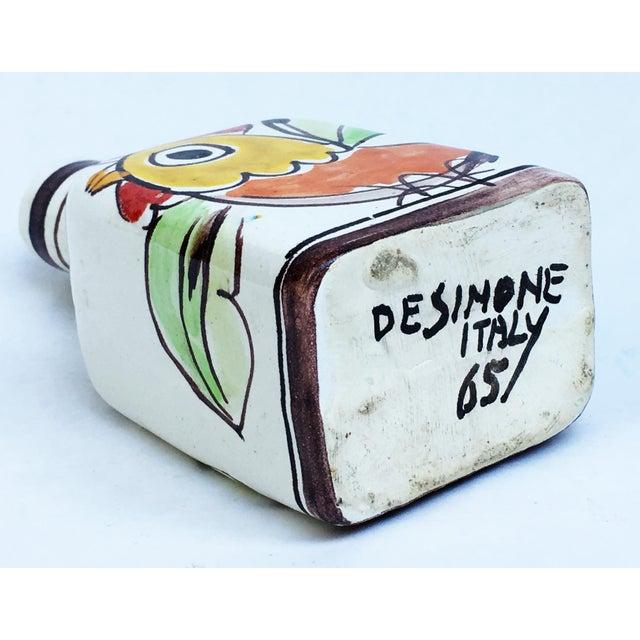 Ceramic 1960s Italian Pottery Vase Bottle Signed DeSimone For Sale - Image 7 of 7