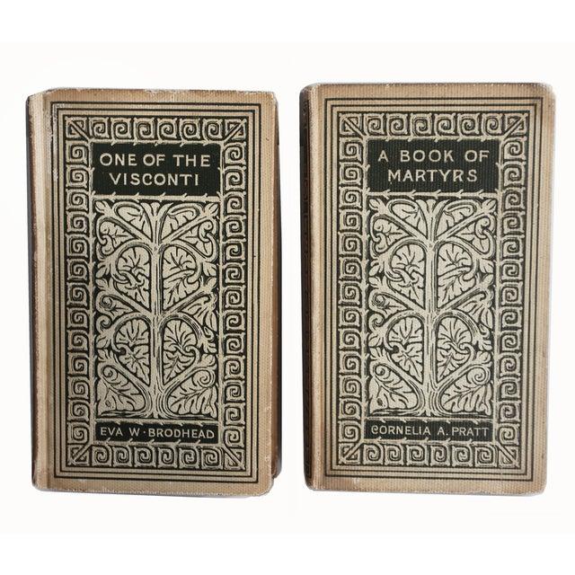 Vintage Decorative Books - Pair - Image 2 of 3