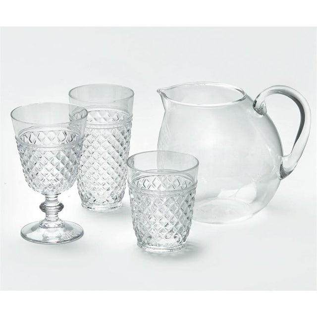 Modern Kenneth Ludwig Chicago Villa Acrylic Wine Glasses - Set of 6 For Sale - Image 3 of 4