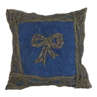 Lavender Sachet W/ Beaded Bow For Sale